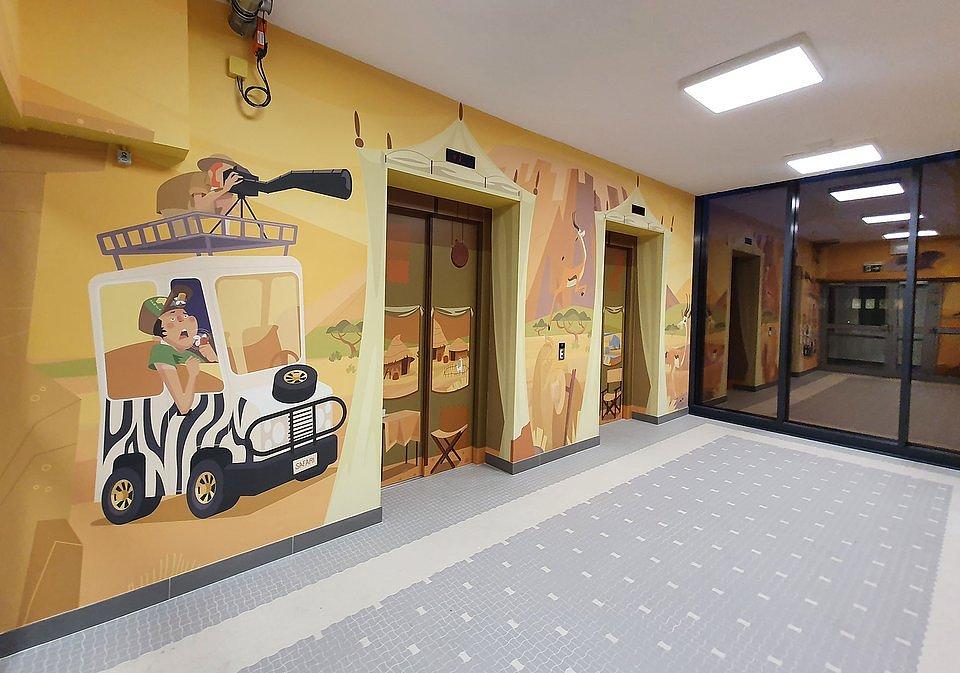 Ceramika Paradyż i Grupa Selena wprowadzają bajkowy klimat w Centrum Zdrowia Dziecka w Warszawie