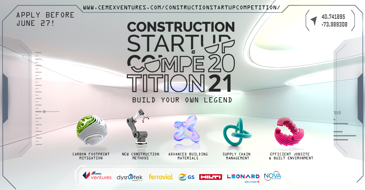 CONSTRUCTION STARTUP COMPETITION 2021