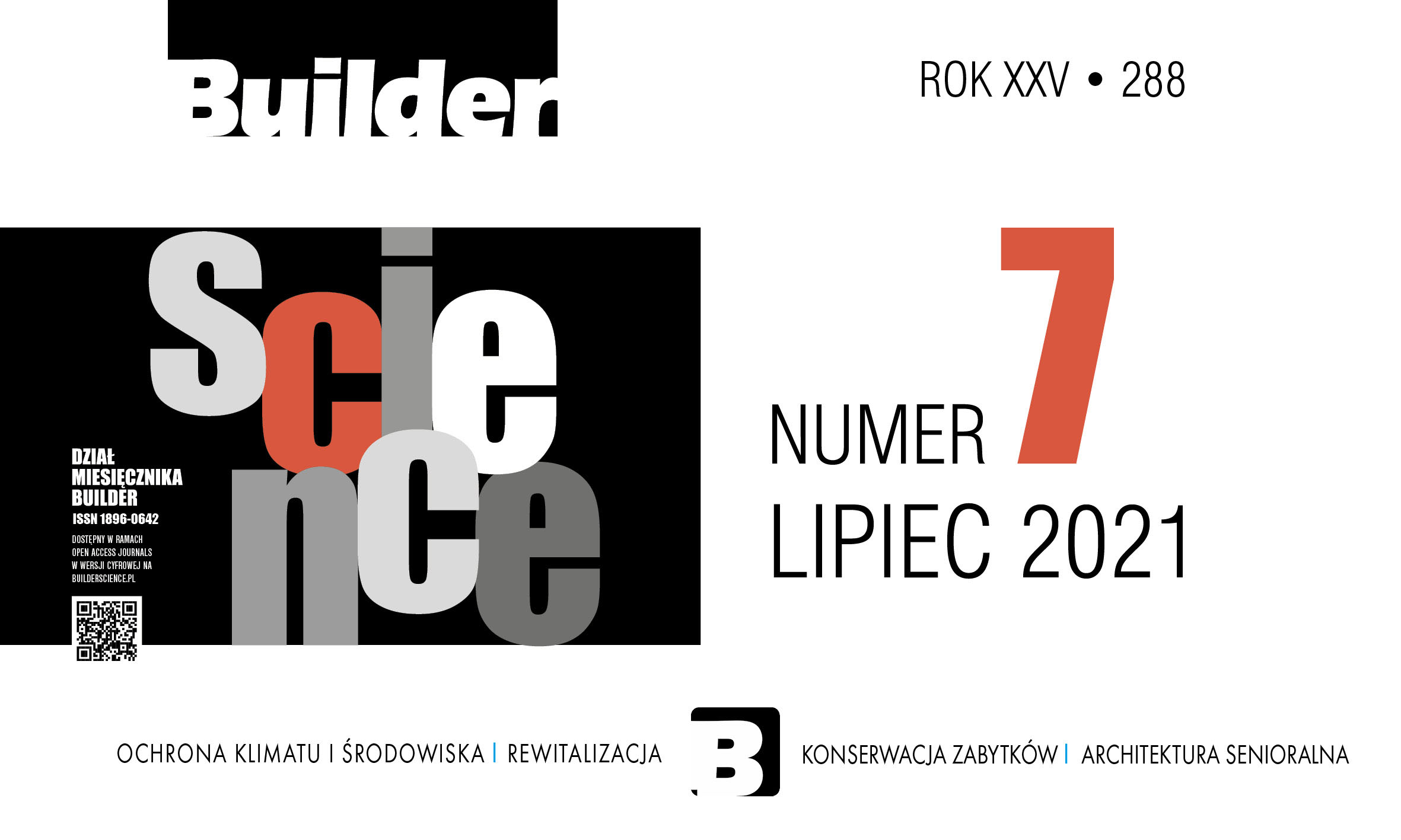 BUILDER SCIENCE 07.2021