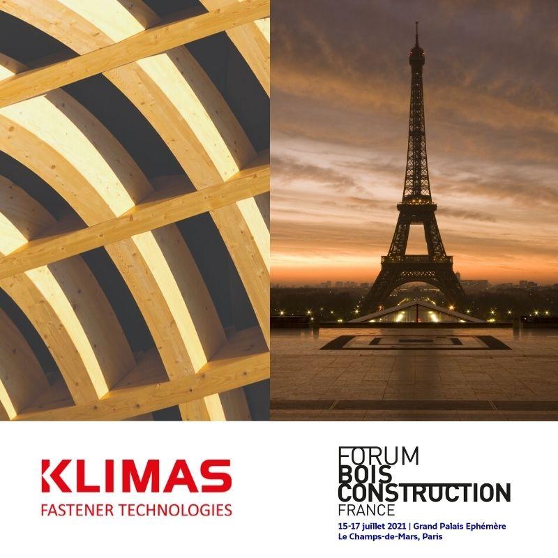Klimas Wkret-met na kongresie budownictwa drewnianego Forum Holzbau w Paryżu.