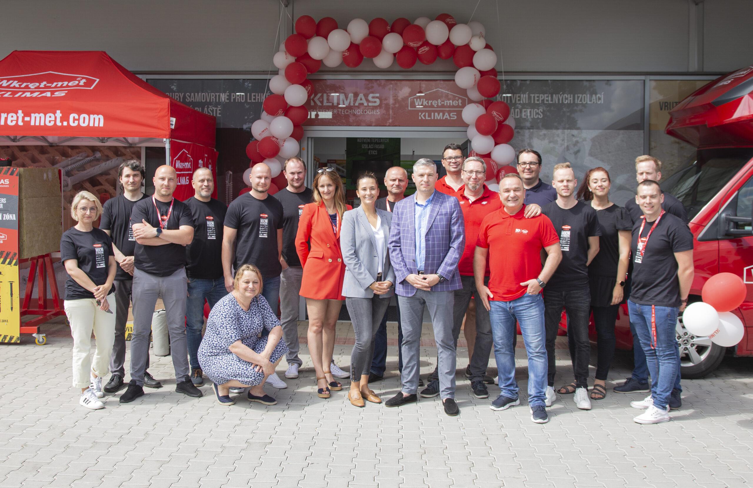 Centrum Technik Zamocowań Klimas Wkręt-met w czeskiej Pradze – otwarte!