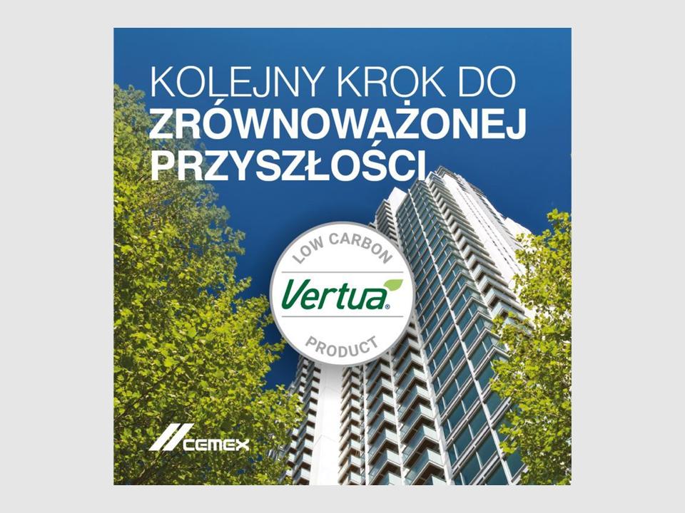 CEMEX rozszerza portfolio Vertua®