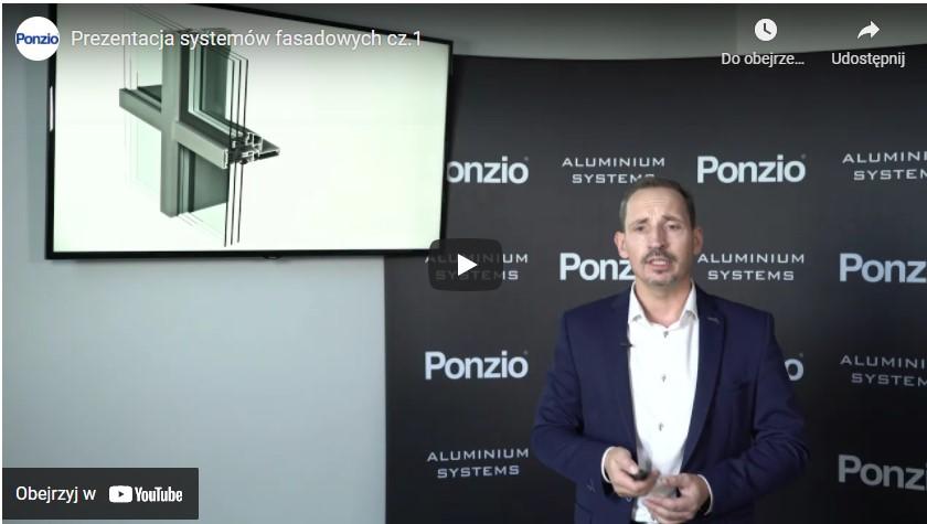 Prezentacja systemów fasadowych Ponzio