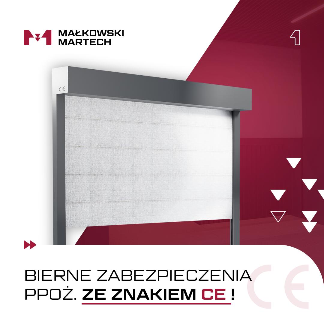 Małkowski-Martech S.A. posiada znak CE