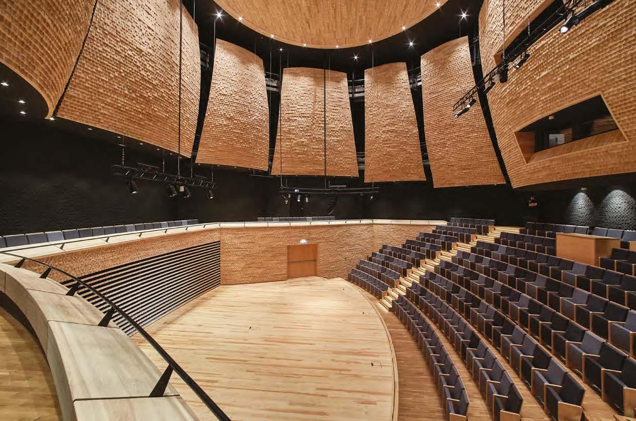 Architektoniczny dialog muzyki z ciszą