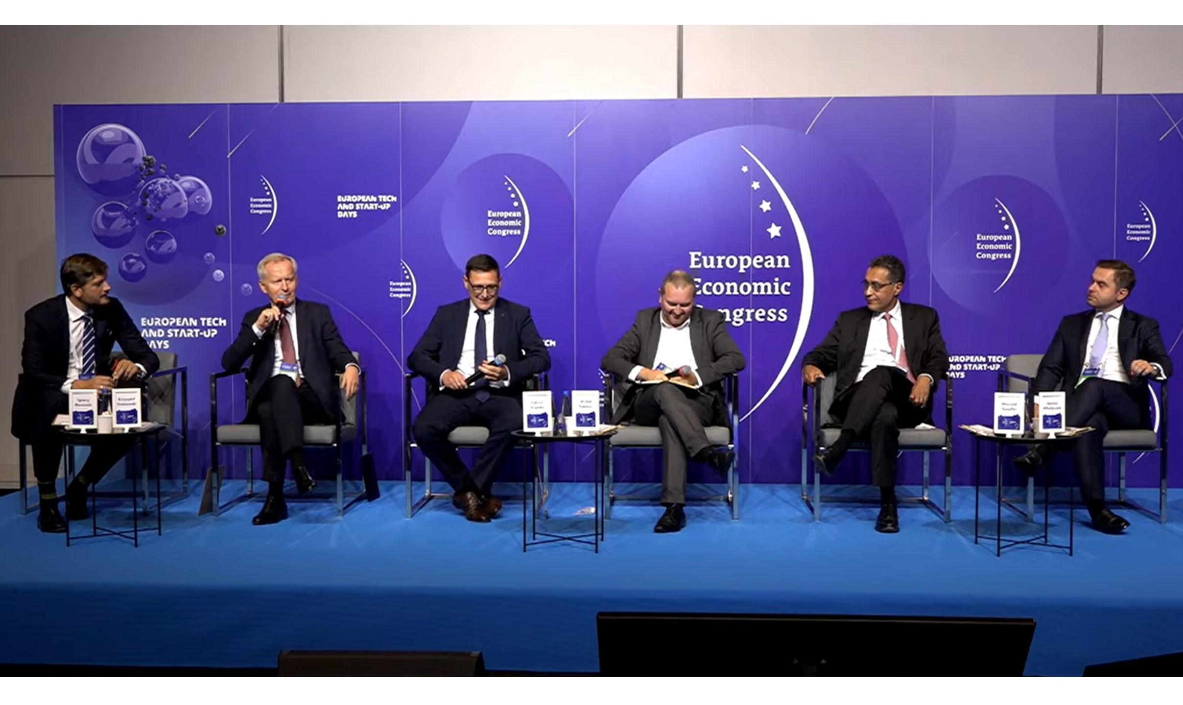 Polska marka jest dobrze postrzegana na świecie – Krzysztof Domarecki na Europejskim Kongresie Gospodarczym