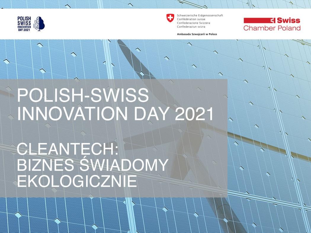 6th Polish-Swiss Innovation Day, 14.10.2021