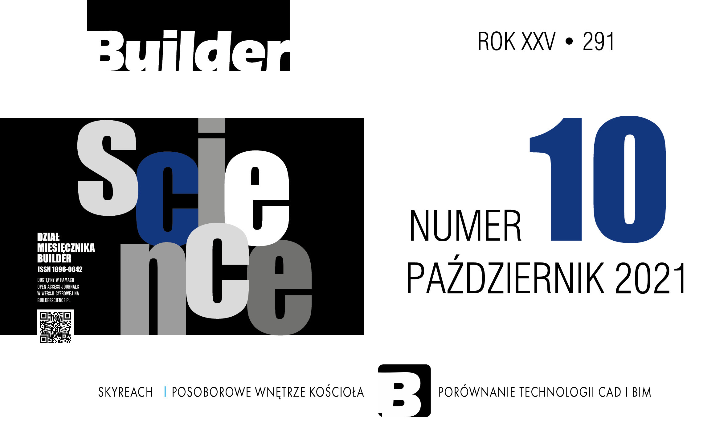 BUILDER SCIENCE 10.2021