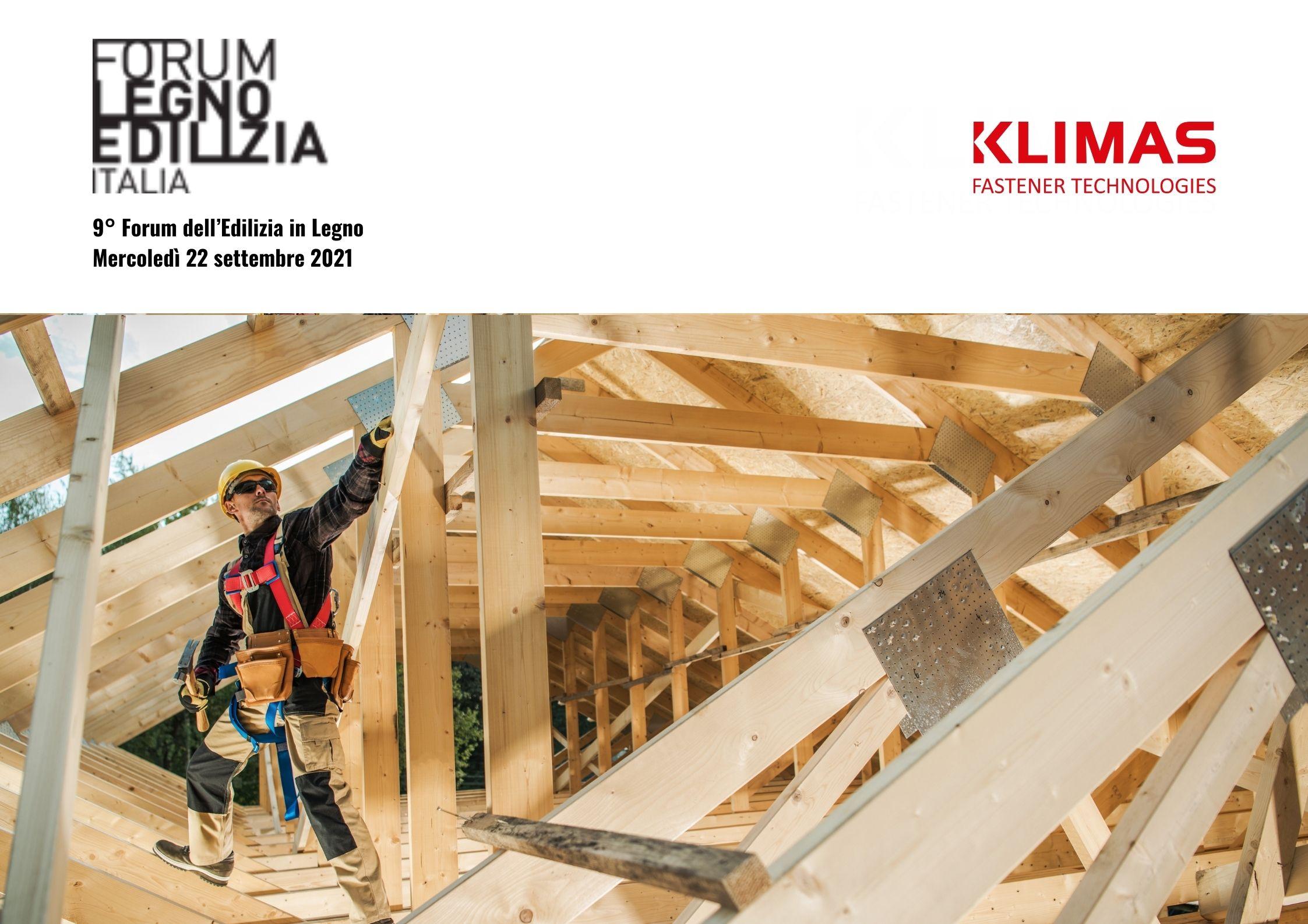 Klimas Wkręt-met na Międzynarodowym Forum Budownictwa Drewnianego we Włoszech